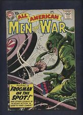 All American Men of War 65 Dc silver age comic Heath Drucker art Frogman story.