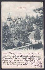 ROMANIA SINAIA 02 România Cartolina viaggiata Postcard 1903