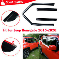 Fit For Jeep Renegade 2015-2020 Tape On Window Visor Vent Sun Shade 4pcs/set