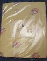 New Pottery Barn Kids Yellow Cottage Floral Crib SHEET Toddler bed