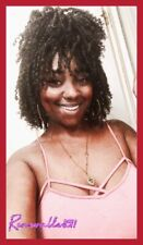 KINKY CURLY SYNTHETIC WIG 1B