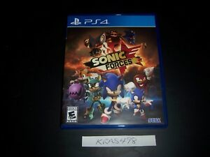 Replacement Case (NO GAME) Sonic Forces PlayStation 4 PS4 Box 100% Original