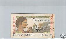 DJIBOUTI 100 FRANCS ND (1946) Q.40 N° 0990781 PICK 19A