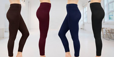 NEW  WOMEN LADIES THICK WINTER THERMAL LEGGINGS FLEECE LINING SIZE 08-18,LEG