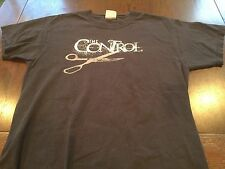 Rare THE CONTROL British Punk Rock Oi Band T Shirt (M) Up The Punx