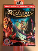 The Legend of Dragoon Strategy Guide Prima Official Playstation PS1