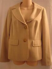 ANN TAYLOR LOFT womens Beige lined blazer jacket sz 4 NWT