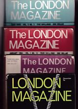 Various Issues of THE LONDON MAGAZINE from April 1960 to December 1969