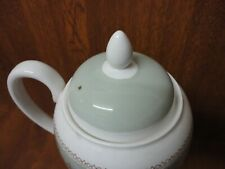 Wedgwood Gold Columbia SAGE GREEN - LID for Large Coffee Pot / unfinished