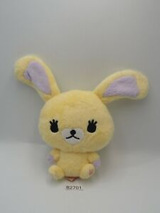 """Mofy Moffi Yellow Rabbit B2701 Plush 6"""" Stuffed Toy Doll Japan"""