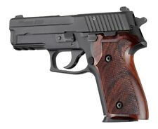 Hogue Grip For A Sig Sauer P228, P229 and M11-A1 Cocobolo wood Checkered 28811