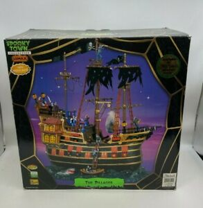 Lemax Spooky Town Halloween 2006 The Pillager Village Ship 65409 MISSING PIECES