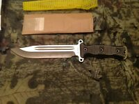 Busse Combat HOG Gemini Nuclear Option Competition Finish With Black Micarta
