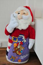 Milka Weihnachtsmann, Ultragroß, Maskottchen Kinder Plüsch Sammler