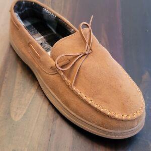 Gold Toe Mens Memory Foam Slip On Loafer Slippers [L 10