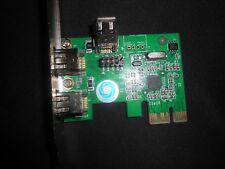 SMAKN PCI-Express IEEE 1394a Firewire controller card (2 external + 1 internal