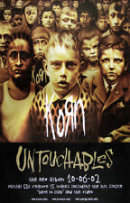Korn poster - Untouchables