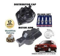 Per Nissan Micra K11 1.0 1.3 1993-2000 Calotta Spinterogeno + Rotore Arm