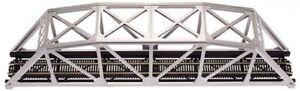 Atlas HO Code 83 Through Truss Bridge Kit - Silver Item #0594