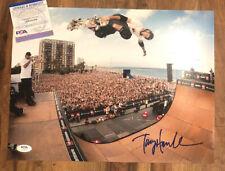 Tony Hawk Skateboarding Signed Autographed 11x14 Photo PSA/DNA COA