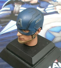 Hot Toys Captain America Masked Head Sculpt 1/6th Scale
