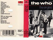 K 7 AUDIO (TAPE) THE WHO *THE SINGLES*