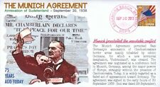 """COVERSCAPE computer designed 75th anniversary of the """"Munich Agreement"""" cover"""