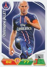 CHRISTOPHE JALLET PSG PARIS SG TRADING CARDS ADRENALYN PANINI FOOT 2013