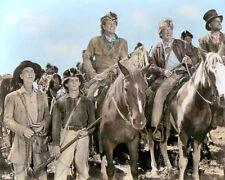 "JOHN WAYNE THE ALAMO 1960 HOLLYWOOD ICON ACTOR 8x10"" HAND COLOR TINTED PHOTO"