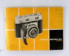 Kodak Retina Iiic Original Instruction Book - 44 pages