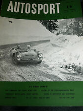 HWM JAGUAR 1955 TEST THEO PAGE COOPER 1100 CLIMAX CONNAUGHT SPORTS 1.5 LITRE