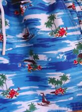 Mens FCUK French Connection Multi Palm Swim Shorts SIZE XL (Extra Large)  - New