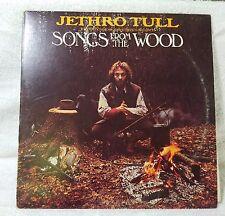 JETHRO TULL - Songs From The Wood Vinyl LP Record Chrysalis CHR 1132 VG/G