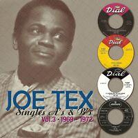 JOE TEX - SINGLES A'S & B'S VOL.3 (1969-1972)  CD NEW+