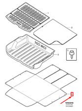 VOLVO XC60 MK1 Load Compartment Dirt Cover 30721007 NEW GENUINE