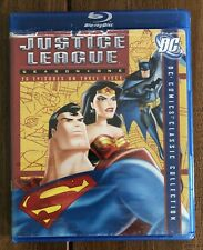 New listing Justice League - Season 1 (Blu-ray Disc, 2008, 3-Disc Set)