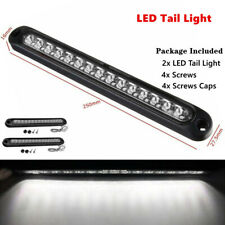 2PC 15-LED Waterproof Car Strip Light Bar Pickup railer Stop Turn Tail Reverse