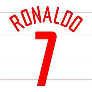 Ronaldo 7. Manchester United Third football shirt 2003 - 2004 FLEX NAMESET