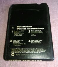 Maria Muldaur Waitress In A Donut Shop 8 Track Tape 1974 Warner Brothers Backyar