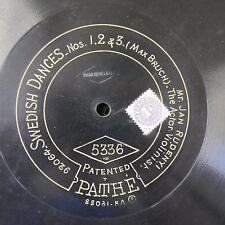 "12"" 78rpm PATHE 5336 JAN RUDENYI bruch swedish dances"