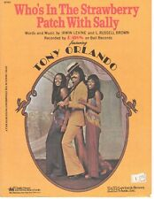"Dawn/Tony Orlando ""Who'S In The Strawberry Patch With Sally"" Sheet Music-New!"