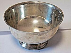 GORHAM Sterling Silver Paul Revere Reproduction Bowl # 41657-  223.5 Grams .