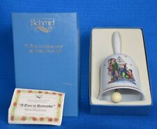 "Berta Hummel 1981 Christmas Bell ""A Time To Remember"" Nib - Schmid"