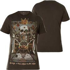 MARC ECKO T-Shirt Dead Kingz Pirate Grey Dunkelgrau T-Shirts