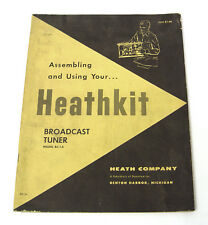 Heathkit baumappe/assembly instructions manual per bc-1a HIFI TUBI-Tuner