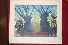 Künstlerische Grafiken & Drucke mit Landschafts-Motiv und Lithographie-Technik