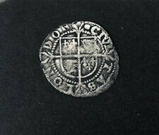 Elizabeth I Silver Hammered Twopence Silver Coin.
