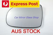 LEFT PASSENGER SIDE HOLDEN BARINA XC 2001 - 2005 MIRROR GLASS WITH BACK PLATE