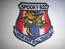 US Air Force 4th Air Commando SPOOKY 622 HAVE GUN WILL TRAVEL Vietnam War Patch