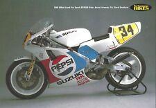 World Endurance RVF750 Honda NSR500 GSX-R750 Suzuki RGV500 Yamaha Genesis RGV
